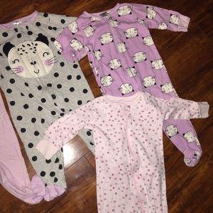 4pc Baby girls Pajama Set